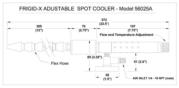 adjustable_spot_cooler_dimensions